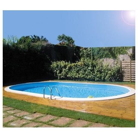 piscina gre enterrada acero piscinas online ovaladas