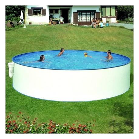 Piscina redonda economica acero gre piscinas online baratas for Piscinas con depuradora baratas