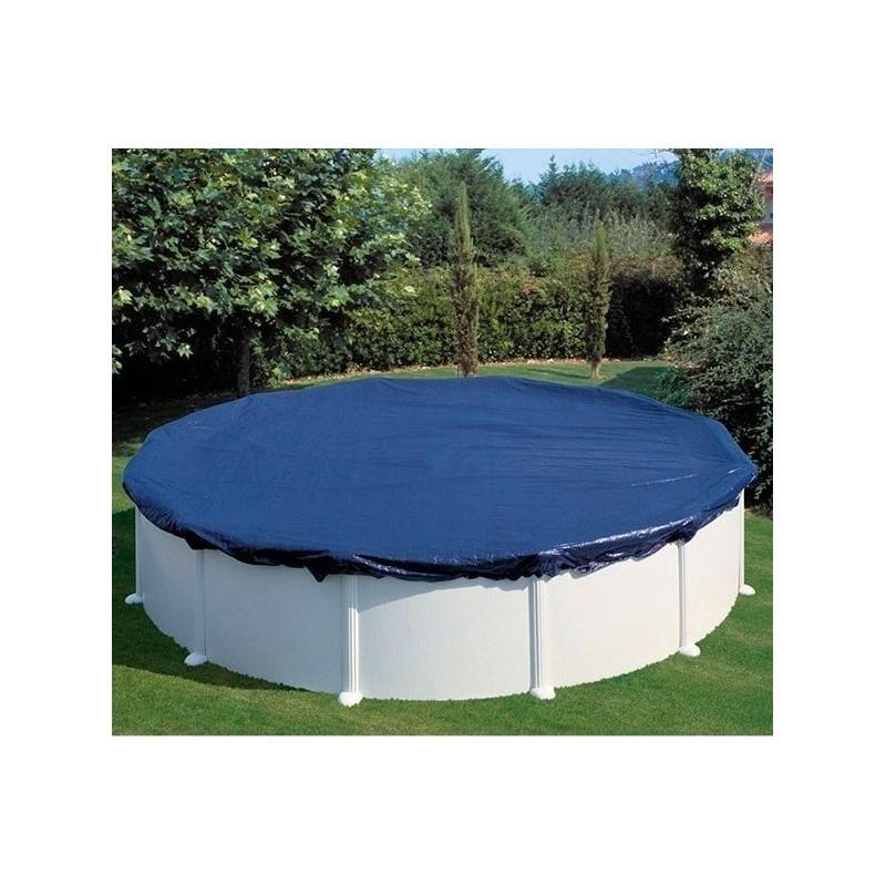 Cobertor de invierno para piscina redonda cubiertas piscinas online - Manta de invierno para piscina ...