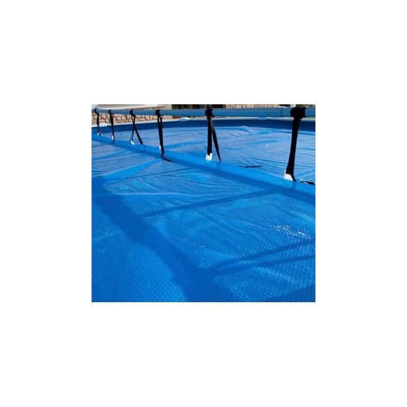 Enrollador cubierta gre piscinas elevadas cubiertas for Limpiadores de piscinas