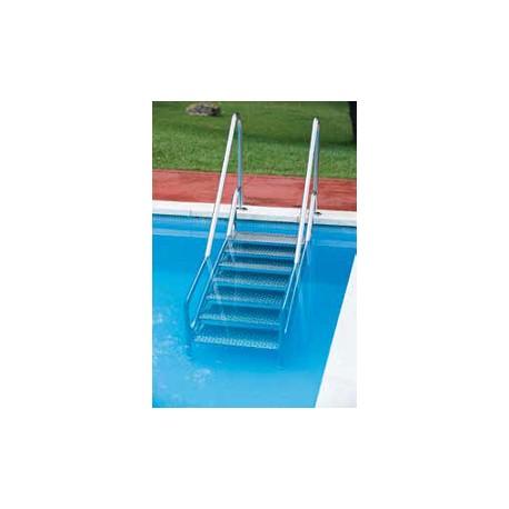 Escalera piscina movilidad reducida accesorios de for Escalera piscina facil acceso