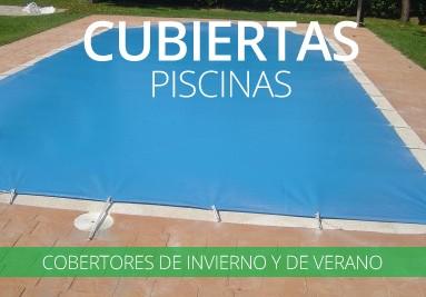 Cubiertas de piscinas para verano e invierno