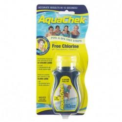 AquaChek Tiras analíticas cloro libre