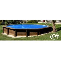 Cubierta verano Gre Terra Pools ovalada