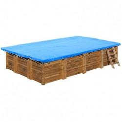 Cubierta invierno Gre Terra Pools rectangular 550 g/m²