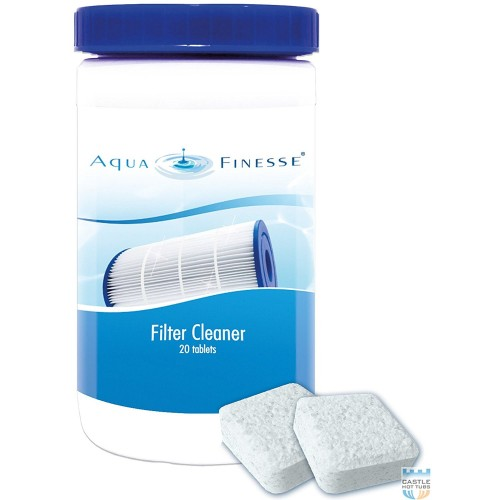 Limpiador de filtro Aquafinesse spa jacuzzi
