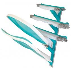 Colgador metálico para material de limpieza BHM15