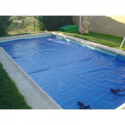 Cobertor térmico de burbujas para piscina