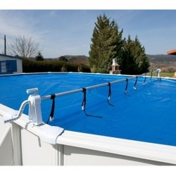 Enrollador de piscinas elevadas Gre